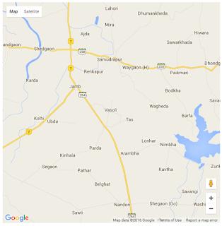 hasil dari google map buatan sendiri