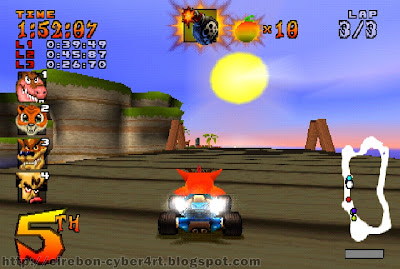 Download Game CTR Crash Team Racing For PC 3D Feact