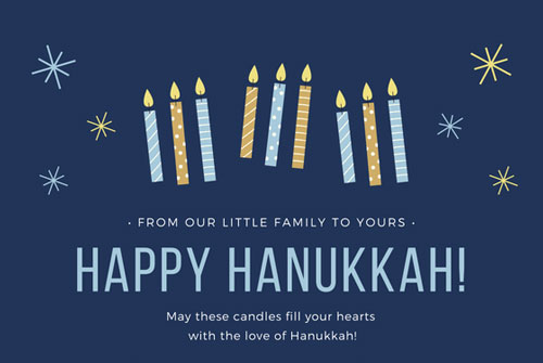 happy hanukkah 2018 greetings for cards