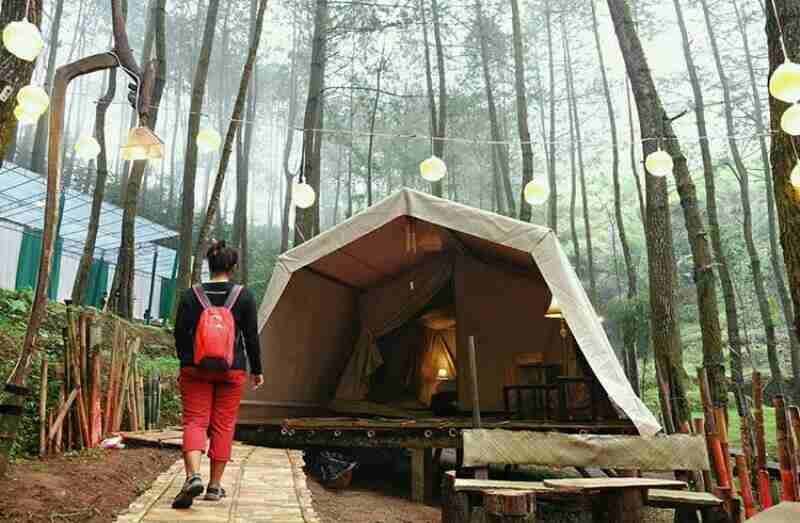 Info Lokasi Wisata Nomadic Glamping De'Loano yang Hits