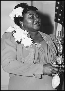 Hattie MacDaniel en los Oscars 1940