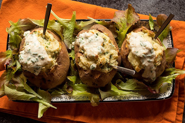 recette vegan twice baked potatoes