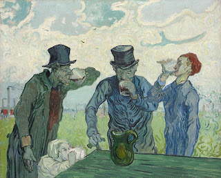 The Drinkers, de Vincent van Gogh