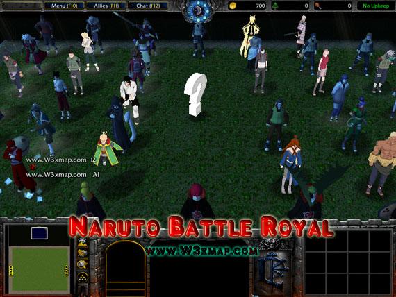 Naruto battle royal 7. 75 map download game2f.