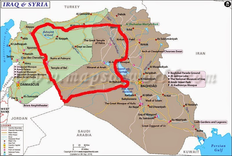 ESCHATOLOGY TODAY Global SITREP C715 The Islamic State A