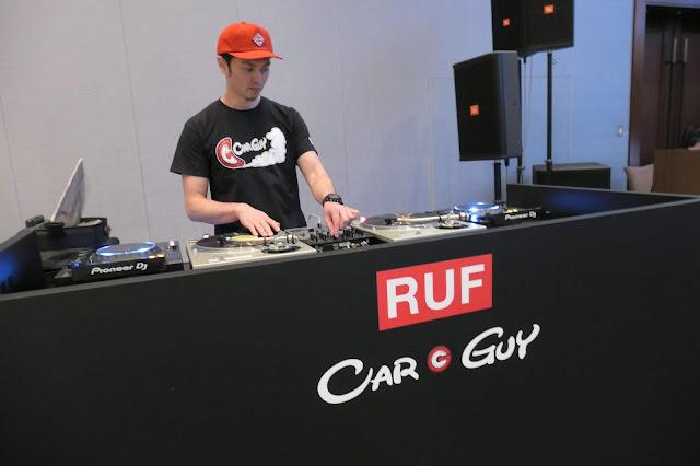 DJ YASU @ パレスホテル東京 「RUF & CARGUY ル・マン24」