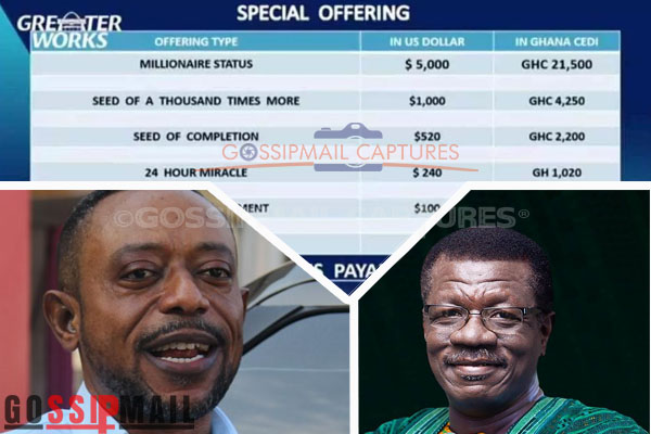 Owusu Bempah slams Otabil over 'Special Offerings'