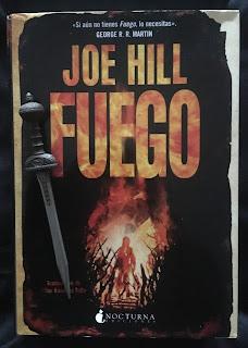 Portada del libro Fuego, de Joe Hill