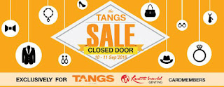 TANGS Closed Door Sale 1 Utama 2016