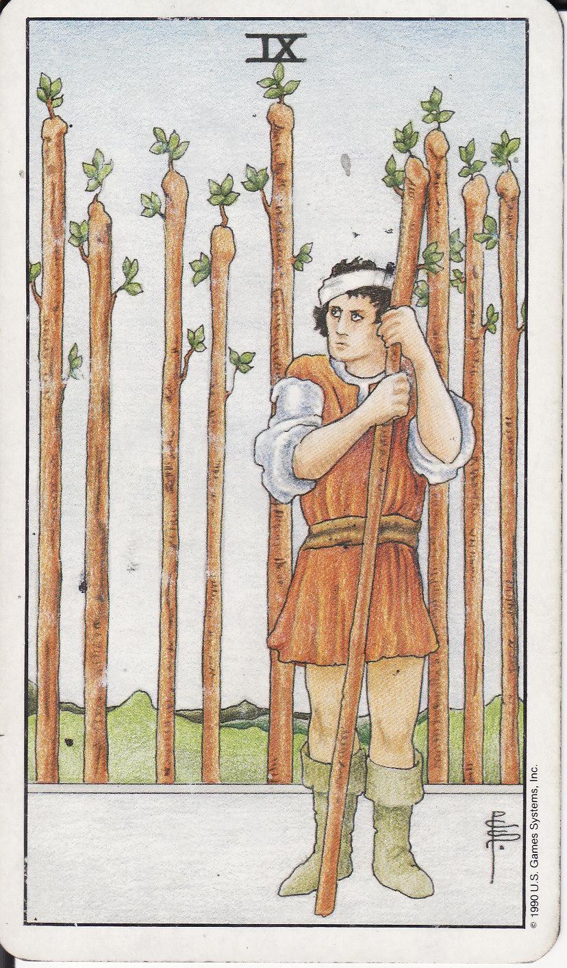 9 of wands tarot