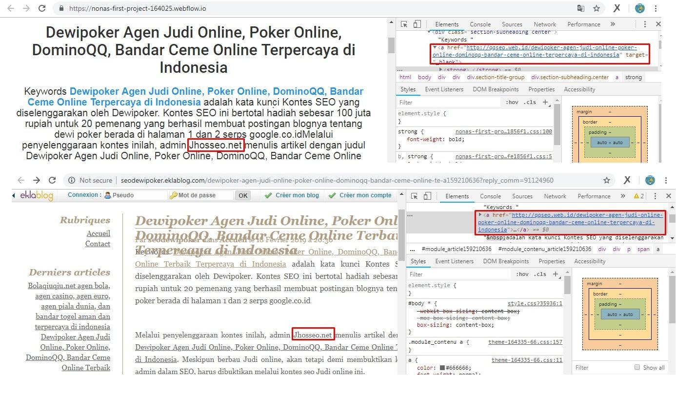 Daftar Blog Paling Sering Copy Paste Artikel Jhosseo.net