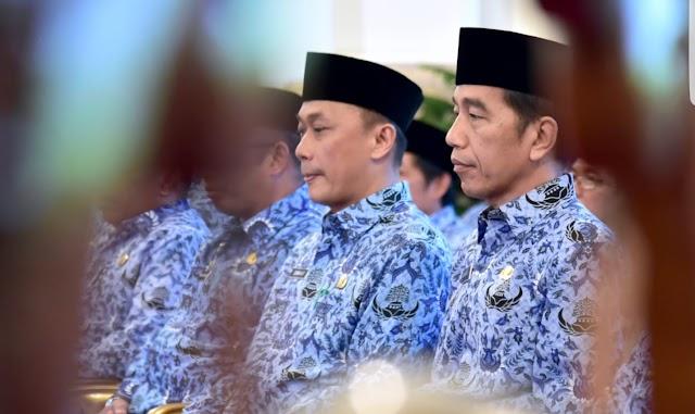 Presiden Jokowi Ajak KORPRI Respons Perubahan Global dan Siap Layani Rakyat