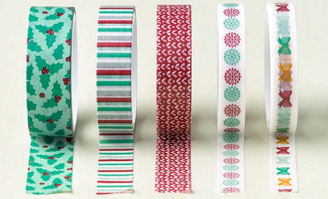 Warmth & Cheer Designer Washi Tape Stampin' Up!
