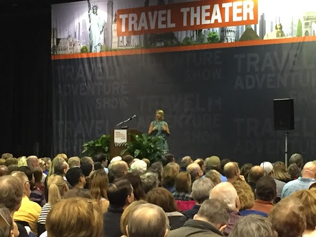 Samantha Brown at The Travel and Adventure Show