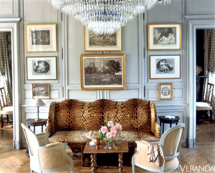 Interiors | A Manor House In Normandy