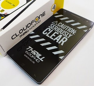 Cloudfone announces the Availability of Octa Core Thrill 600FHD