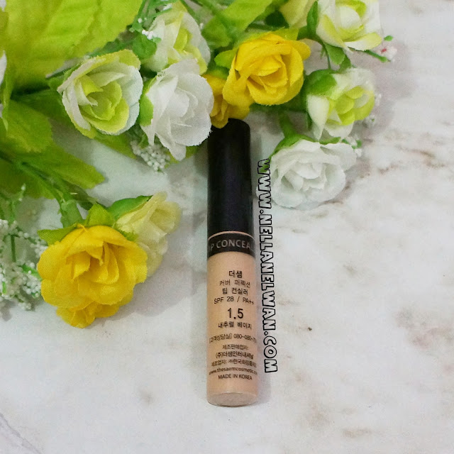 the saem cover perfection tip concealer 1.5 review nellanelwan