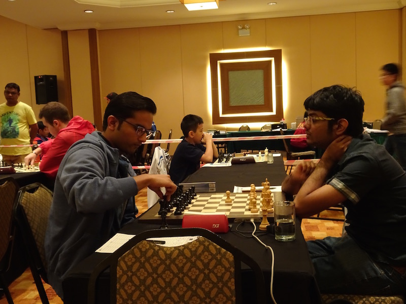 GM Dhopade leads after 7 rounds