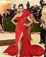 Deepika Padukone Looks stunning in Red Gown at 2018 MET Costume Insute Gala ~  Exclusive 001.jpg