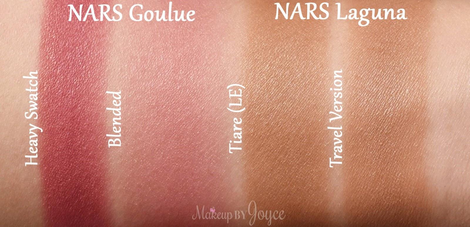 ❤ MakeupByJoyce ❤   !  Swatches + Review  NARS Laguna Tiare ... fa4d726d6c9f