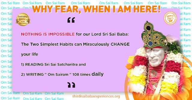 Baba Always Listens - Anonymous Sai Devotee