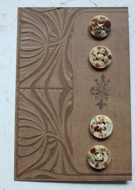 Fun DIY button card projects from Itsy Bits And Pieces Blog