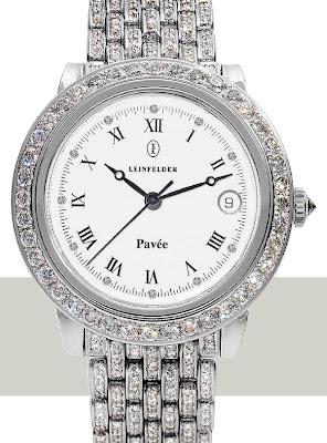 LEINFELDER Unique Pavée watch