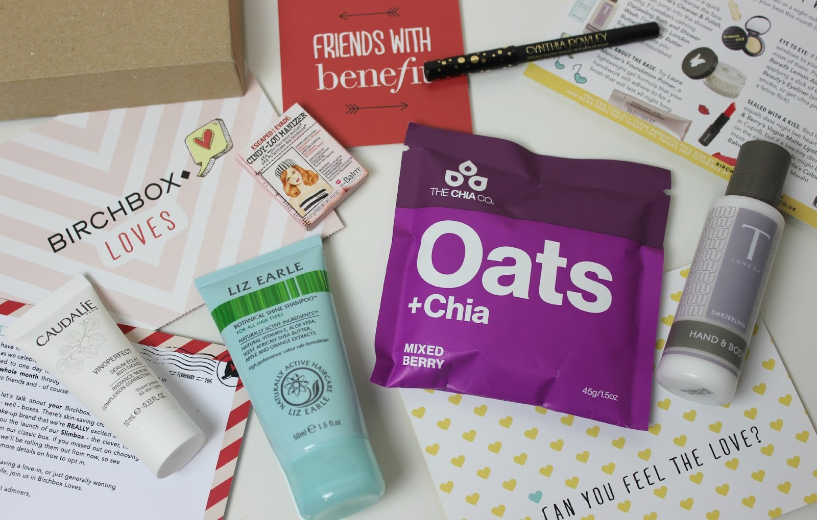 A picture of Birchbox UK February 2015 The New Slimbox