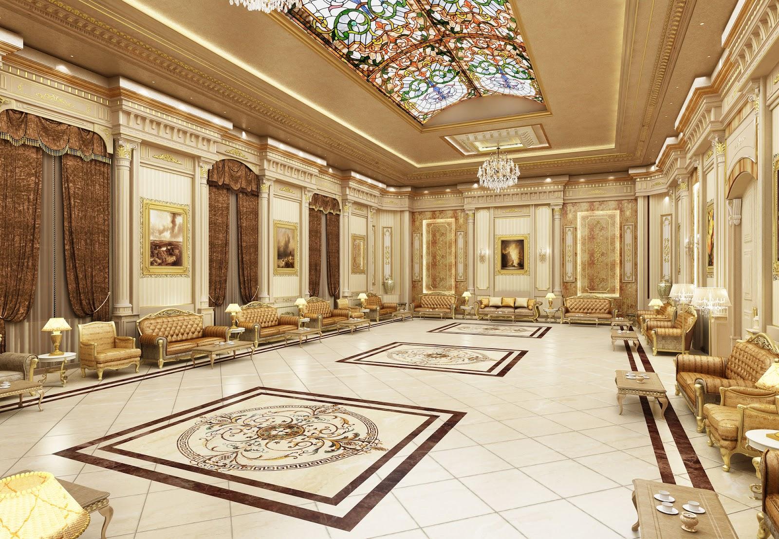 bangunan ornamen grc klasik kuba rumah interior panel