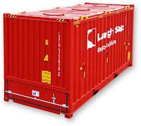 20' bulk container, container