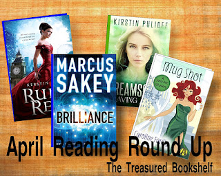 Here are a few of the books I was able to read in April in my month Reading Round up Recap.