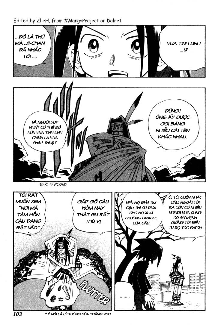 Shaman King [Vua pháp thuật] chap 31 trang 14