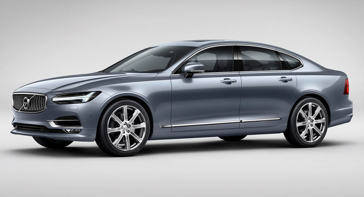 New 2017 Volvo S90 Sedan Hd Images