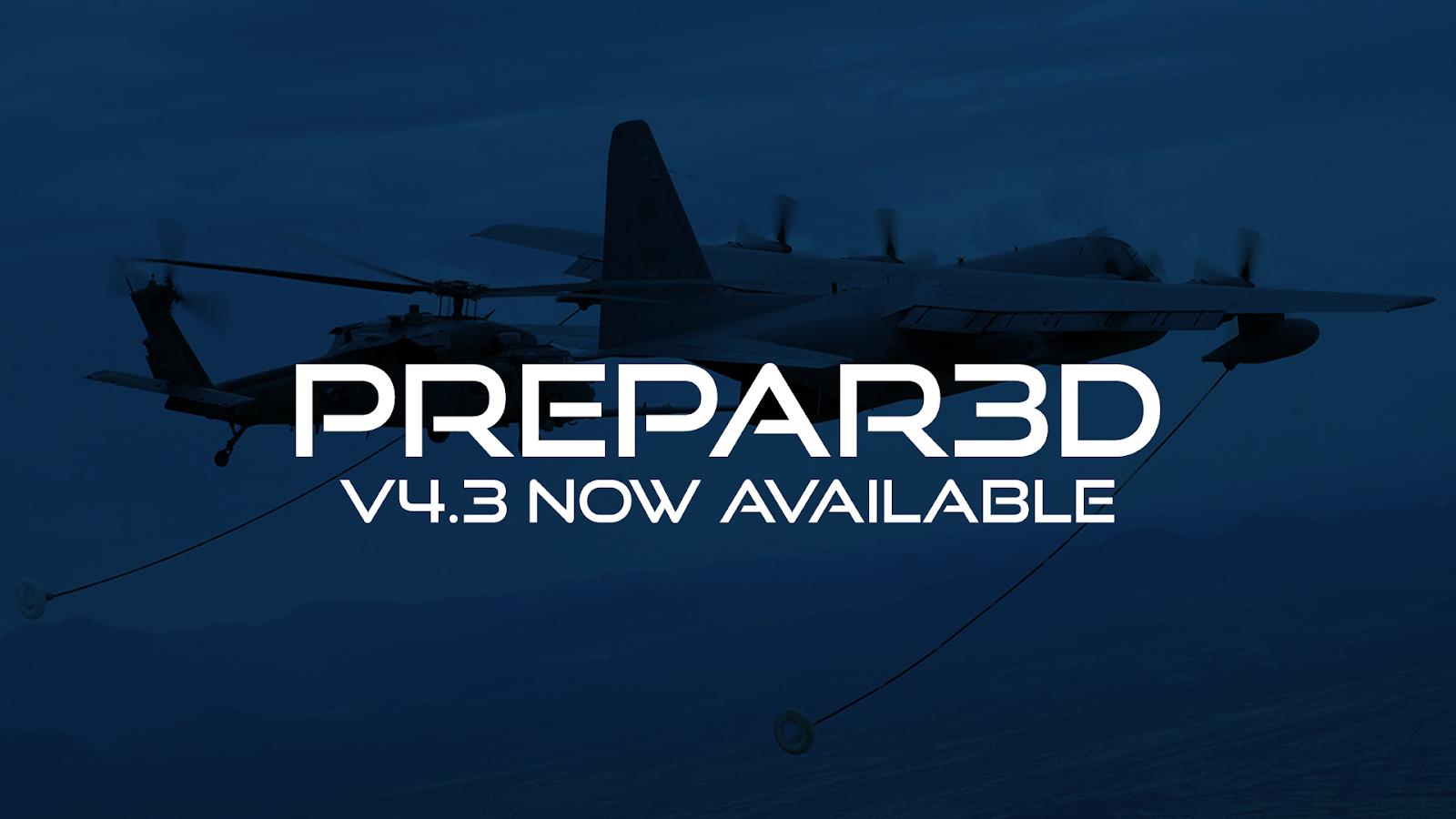 P3Dv4 3] Lockheed Martin Prepar3D V4 3 29 25520 (latest
