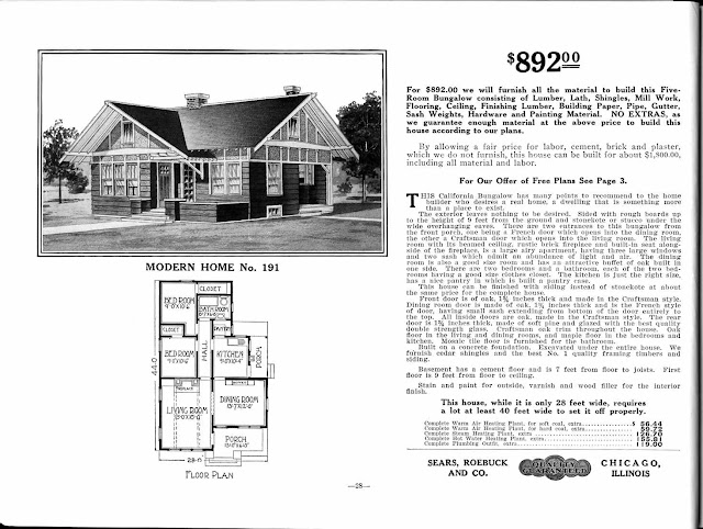 Sears Catalog 'Kit Homes' From the Early 20th Century