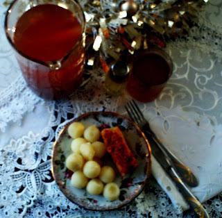 Ziemniaki z olejem lnianym
