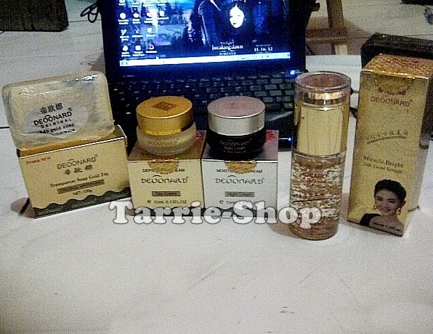 Paket Deoonard Gold Serum Miracle