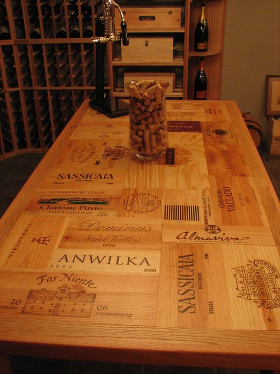 wine crates and boxes the 8 best wine box shelves tables. Black Bedroom Furniture Sets. Home Design Ideas