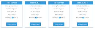 Memilih Akun SSH TLS/ SSL