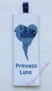 Zakładka do książki Księżniczka Luna – Princess Luna bookmark
