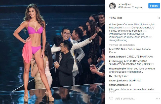 Were You Able to Spot This Cute Chinito Photobomber During the Recent Miss Universe Pageant?