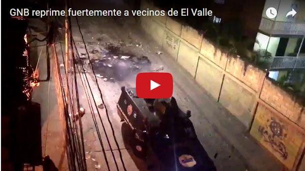 Decenas de heridos graves por ataques de la Guardia en El Valle
