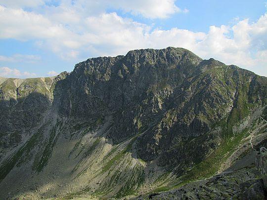 Banówka widziana ze Spalonej Przełęczy.