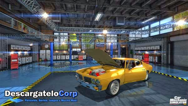 Descargar Car Mechanic Simulator 2015 Español Juego PC