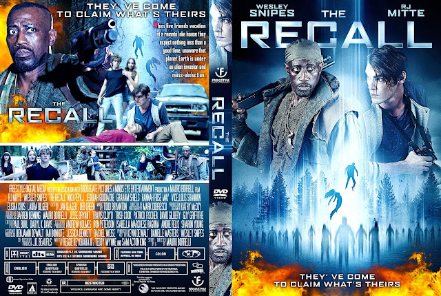 The Recall DVD Cover