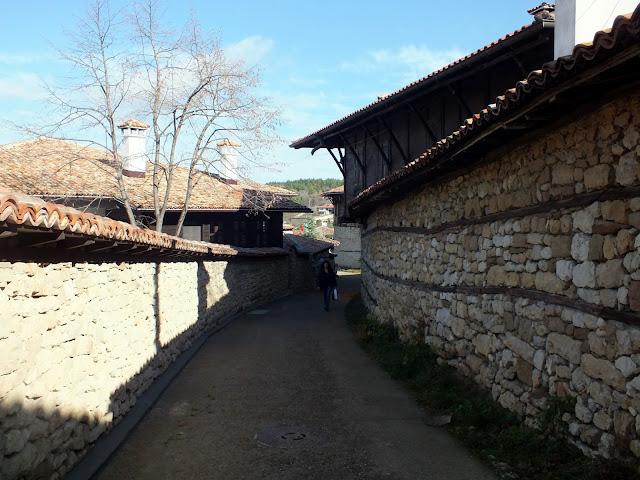 Calle de Arbanasi en Bulgaria