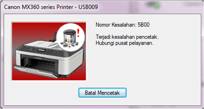Driver And Resetter Printer Canon