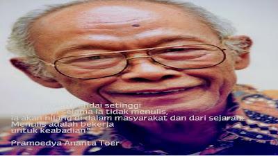 Kutipan Pramoedya Ananta Toer