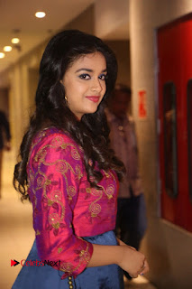 Actress Keerthi Suresh Stills at Remo Success Meet  0070.JPG