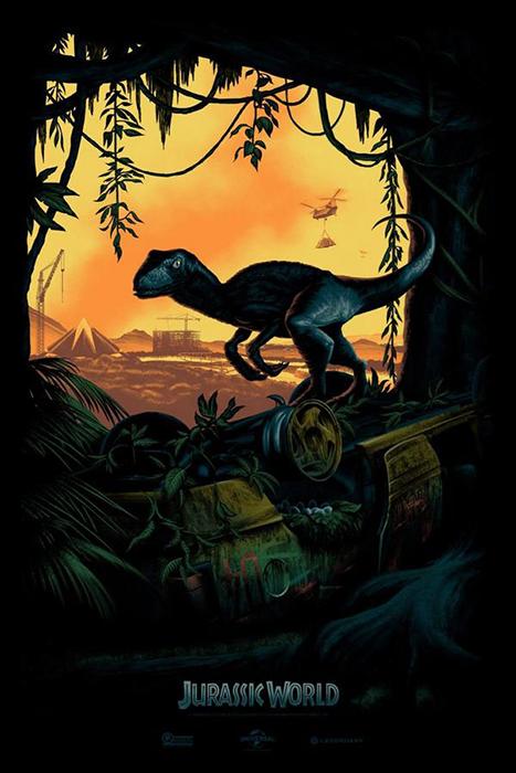 Posterul Jurassic World lansat la Comic-Con